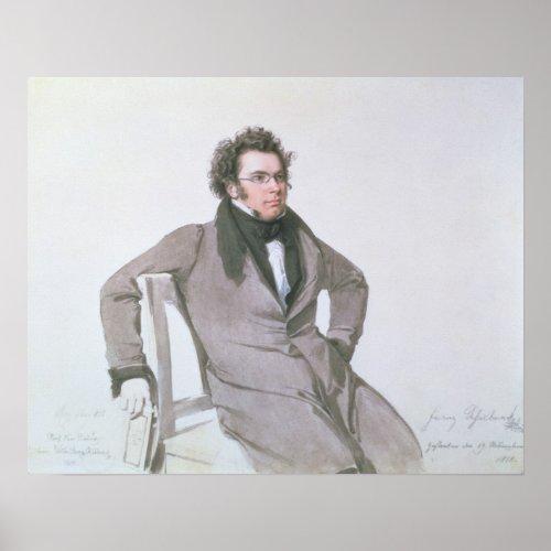 Franz Schubert  1825 Poster