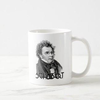 Franz Schubert Classic White Coffee Mug