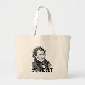 Franz Schubert Large Tote Bag