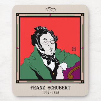 Franz Schubert Mousepad Tapetes De Ratón
