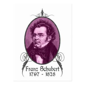 Franz Schubert Postal