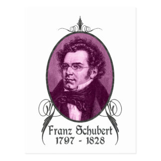 Franz Schubert Postales