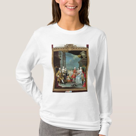 Franz Stephan I  with his wife Marie-Therese T-Shirt