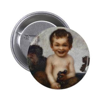 Franz Stuck Art Pin