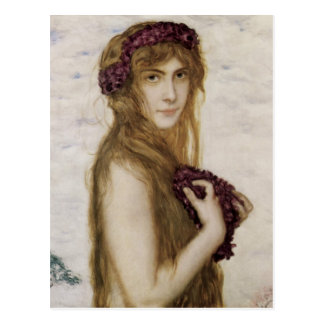 Franz Stuck Art Postcard