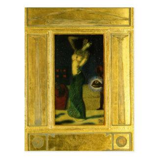Franz Stuck- Salome Postcard
