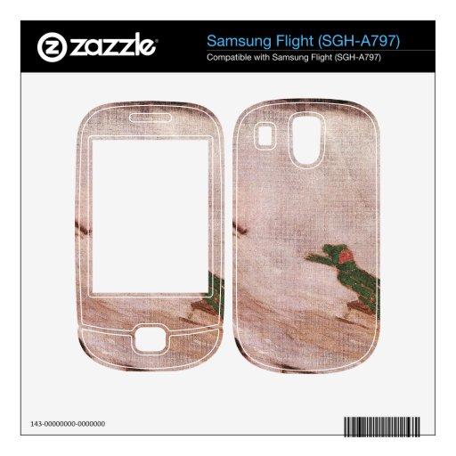 Franz von Stuck - Children sledding Decals For Samsung Flight