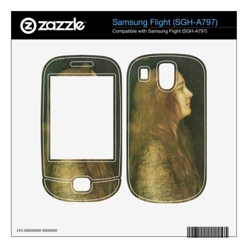 Franz von Stuck - Cinderella Samsung Flight Skin