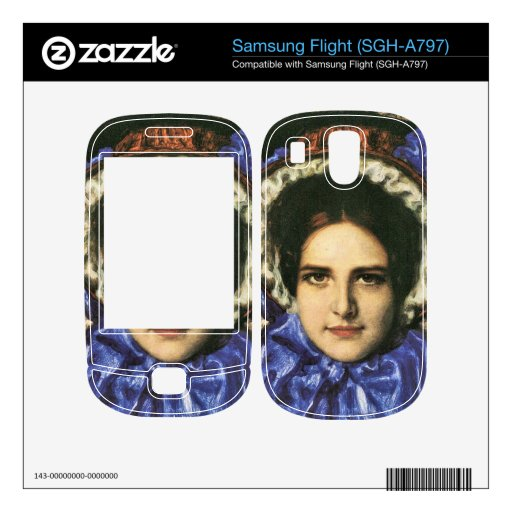 Franz von Stuck - Daughter Mary Samsung Flight Decals