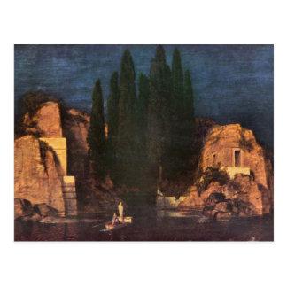 Franz von Stuck - Dead island Postcard
