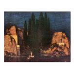Franz von Stuck - Dead island Postcards