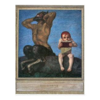 Franz von Stuck - Dissonance Postcard