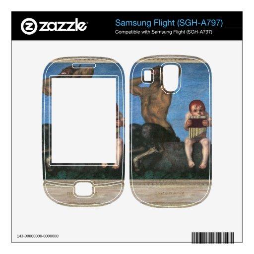 Franz von Stuck - Dissonance Samsung Flight Decals