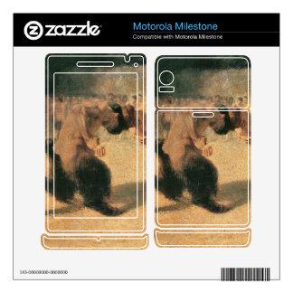 Franz von Stuck - Fighting Faune Motorola Milestone Skins