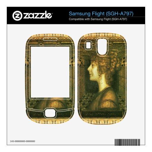 Franz von Stuck - Florentine Decals For Samsung Flight