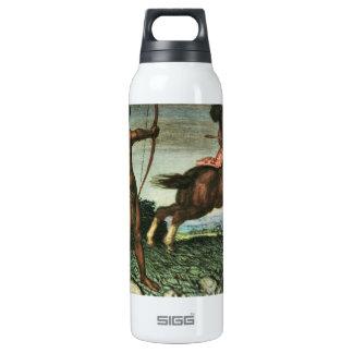 Franz von Stuck - Hercules and Nessus Insulated Water Bottle