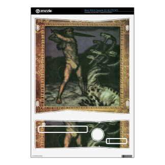 Franz von Stuck - Hercules and the Hydra Skins For Xbox 360 S