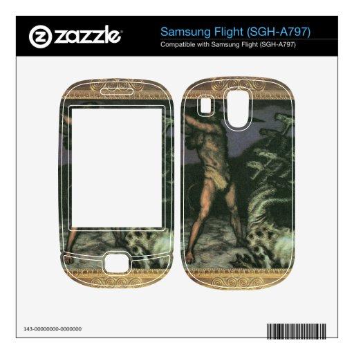 Franz von Stuck - Hercules and the Hydra Skins For Samsung Flight