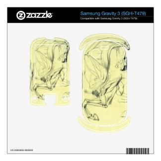 Franz von Stuck - Horse study Samsung Gravity 3 Skins