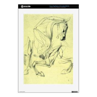 Franz von Stuck - Horse study Skin For PS3