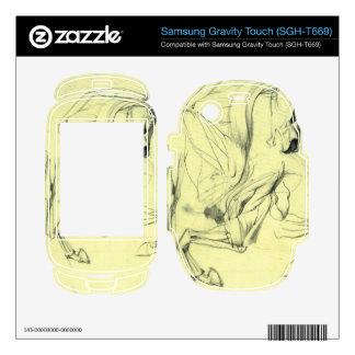 Franz von Stuck - Horse study Samsung Gravity Touch Skins