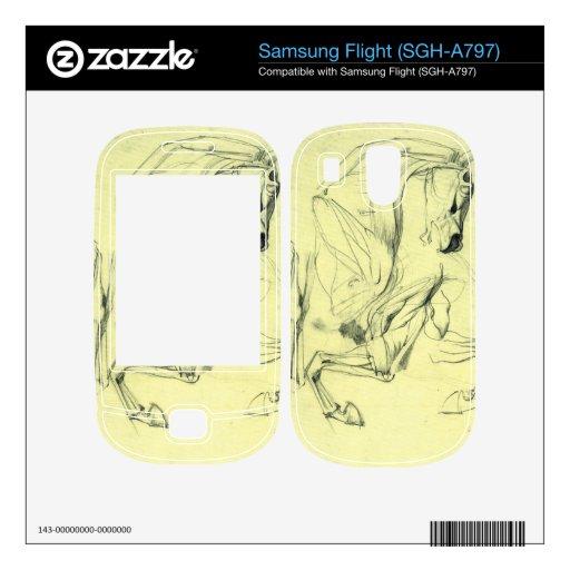 Franz von Stuck - Horse study Skin For Samsung Flight