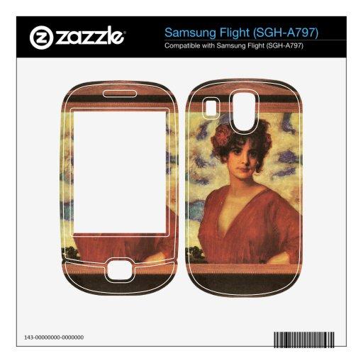 Franz von Stuck - Lady in Red Samsung Flight Skins
