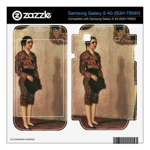 Franz von Stuck - Mary as a bullfighter Samsung Galaxy S 4G Skin