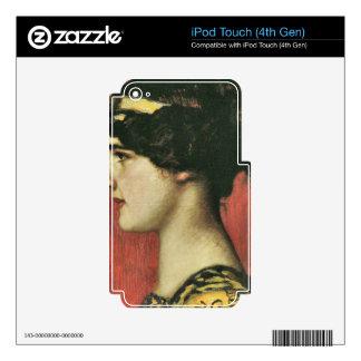 Franz von Stuck - Mary as a Greek iPod Touch 4G Skins