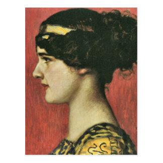 Franz von Stuck - Mary as a Greek Postcards