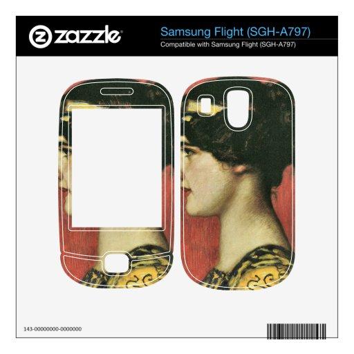 Franz von Stuck - Mary as a Greek Decals For Samsung Flight