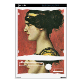 Franz von Stuck - Mary as a Greek Skin For The Xbox 360 S