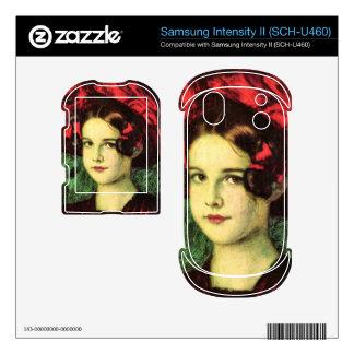 Franz von Stuck - Mary with red hat Samsung Intensity Decal