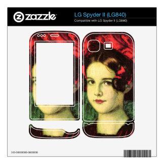 Franz von Stuck - Mary with red hat Decals For LG Spyder II
