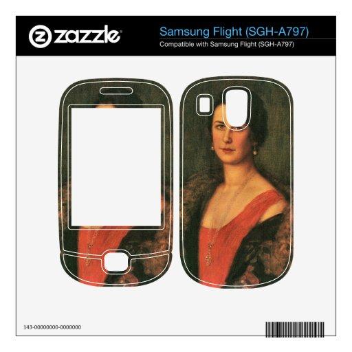 Franz von Stuck - Mrs Patzak Decal For Samsung Flight