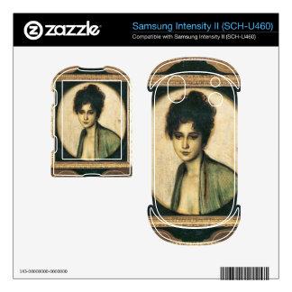 Franz von Stuck - Portrait of Mrs Feez Samsung Intensity Decals