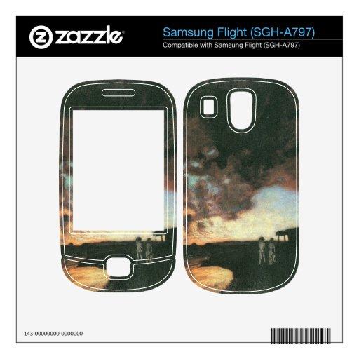 Franz von Stuck - Sunset at the sea Samsung Flight Skins