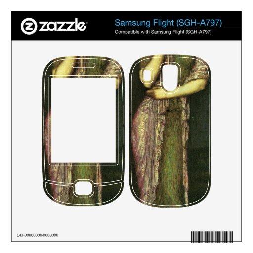 Franz von Stuck - The beautiful Helena Skin For Samsung Flight