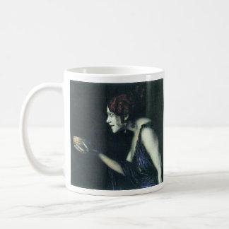 Franz von Stuck - Tilla Durieux as Circe Classic White Coffee Mug