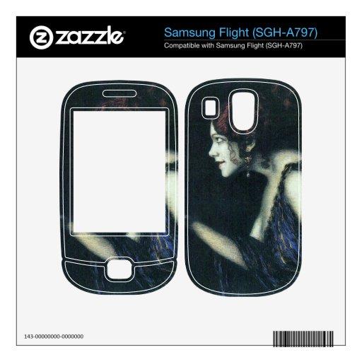 Franz von Stuck - Tilla Durieux as Circe Samsung Flight Skin