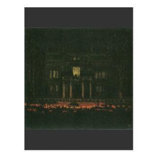 Franz von Stuck - Torches Postcard