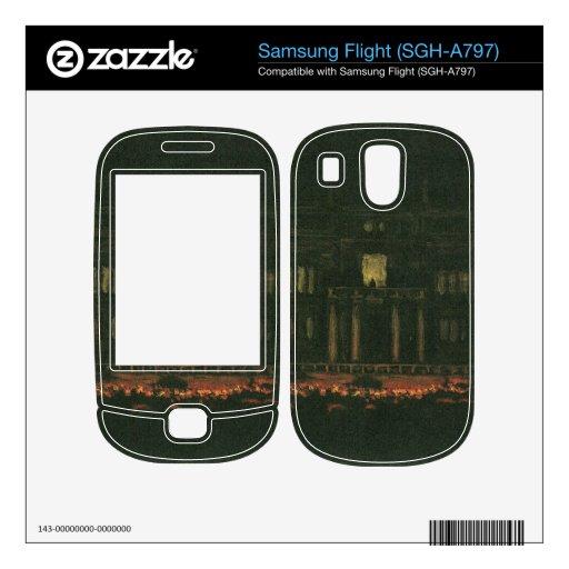 Franz von Stuck - Torches Samsung Flight Skin