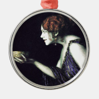 Franz von Stuck's Circe Metal Ornament