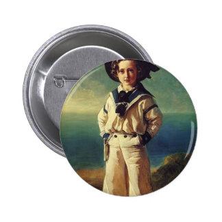 Franz Winterhalter- Albert Edward, Prince of Wales Pinback Button