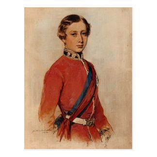 Franz Winterhalter: Albert Edward,Prince of Wales Postcard