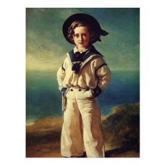 Franz Winterhalter- Albert Edward, Prince of Wales Postcard