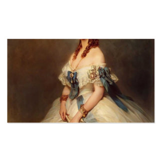 Franz Winterhalter- Alexandra, Princess of Wales Business Card