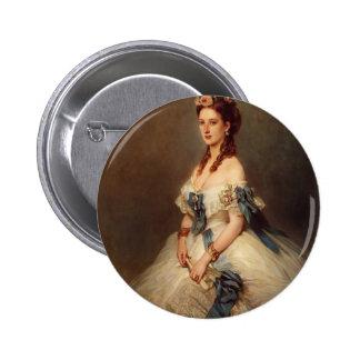 Franz Winterhalter- Alexandra, Princess of Wales Button