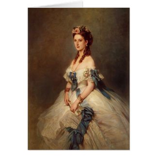 Franz Winterhalter- Alexandra, Princess of Wales Card