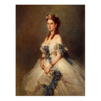 Franz Winterhalter- Alexandra, Princess of Wales Postcard